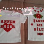 TSHİRT/ KEÇE BADİ SÜSLEME/ TŞÖRT TASARIM
