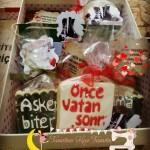 asker kurabiyesi,askere hediye , asker hediyesi , aşk'erim