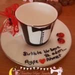 Damat Kahvesi Fincanı, Tuzlu Kahve fincanı ,Kız isteme seramonisi :)