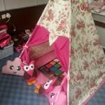 oyun çadırı / çocuk çadırı / kumaş çadır / oyunevi / playteep